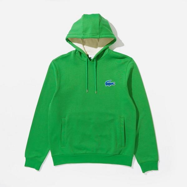 Lacoste Hooded Badge Sweatshirt