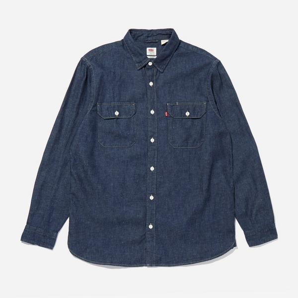 Levis Jackson Worker Hemp Shirt