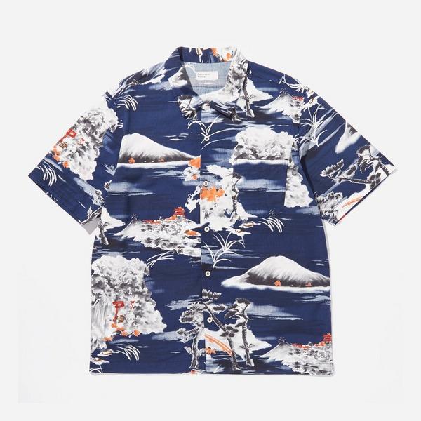 Universal Works Fuji Road Short Sleeve Shirt