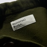 Universal Works Bakers Moleskin Overshirt