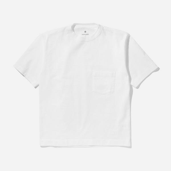 Snow Peak Heavy Cotton Pocket T-Shirt
