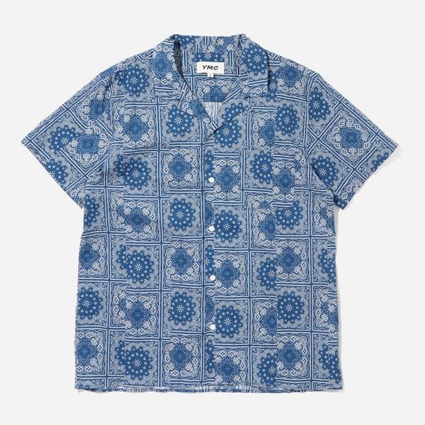 YMC Malick Bandana Print Shirt