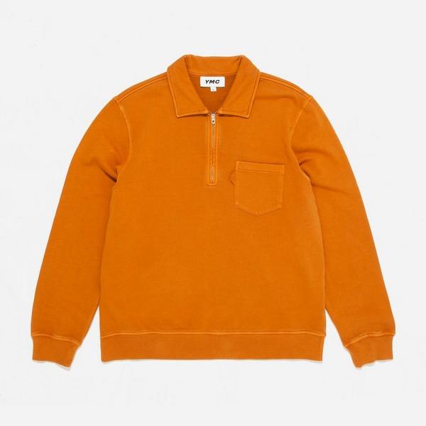 YMC Sugden Loopback Zip Sweatshirt