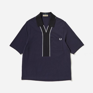 Fred Perry x Casely Hayford Placket Pique Shirt