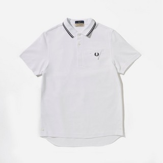 Fred Perry x Casely Hayford Woven Back Polo Shirt