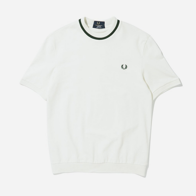 Fred Perry Crew Neck Pique T-Shirt