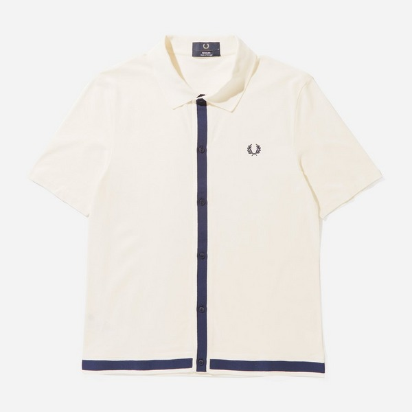 Fred Perry Button Pique Shirt