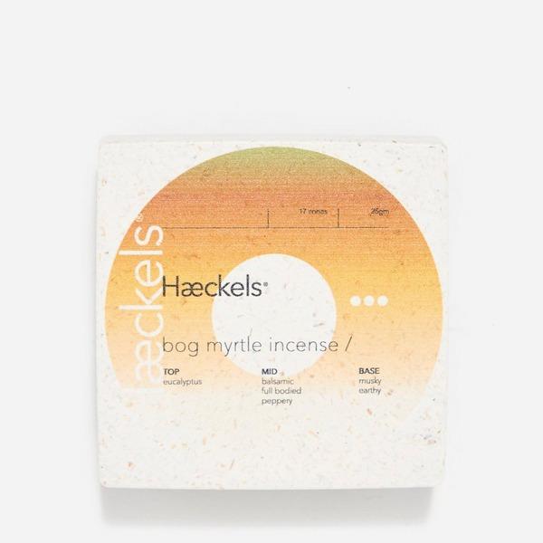 Haeckels Bog Myrtle Incense Cones