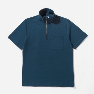 Norse Projects Jorn Half-Zip Polo Top