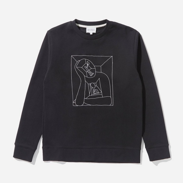 Norse Projects x Geoff McFetridge Boredom Vagn Crew Sweatshirt