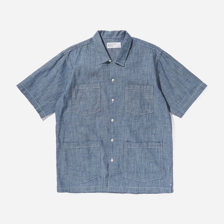 Universal Works Four Pocket Chambray Shirt