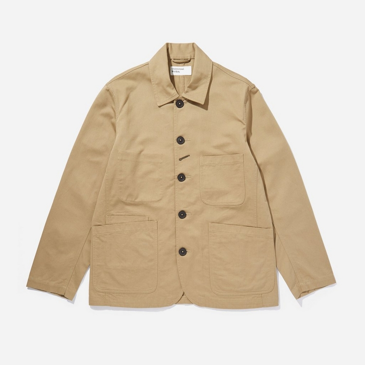 Universal Works Cotton Twill Bakers Jacket