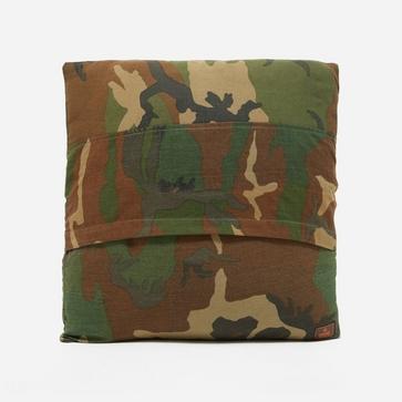 Maharishi Upcycled Camo Cushion