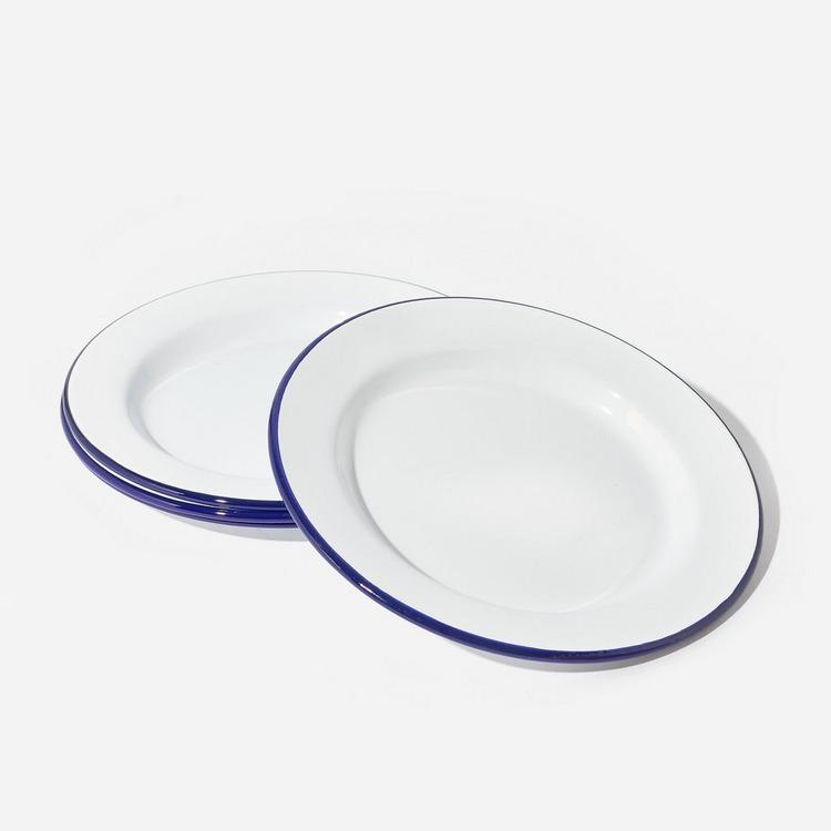 Falcon Enamelware Original Plate Four Set