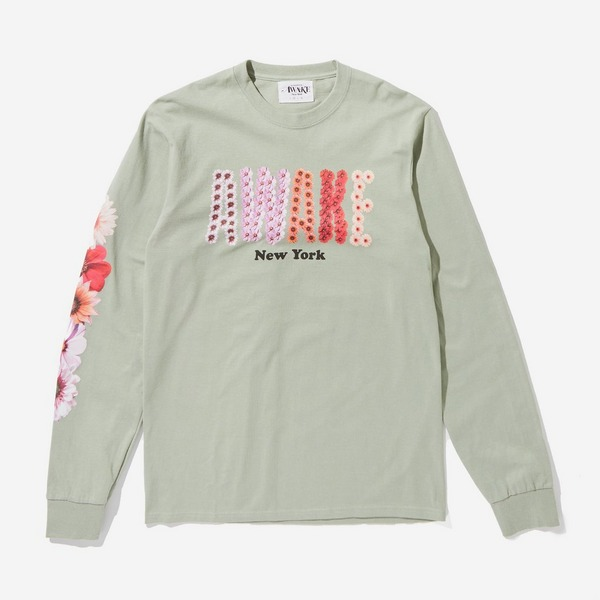 Awake NY Bloom Logo Long Sleeved T-Shirt