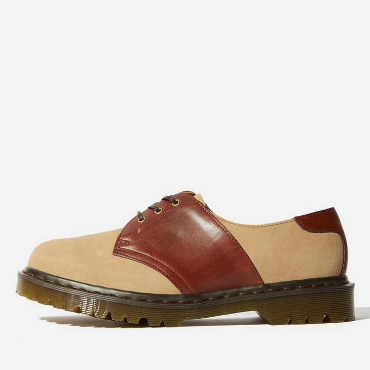 Dr. Martens 1461 Saddle 2-Tone Shoe Made In England