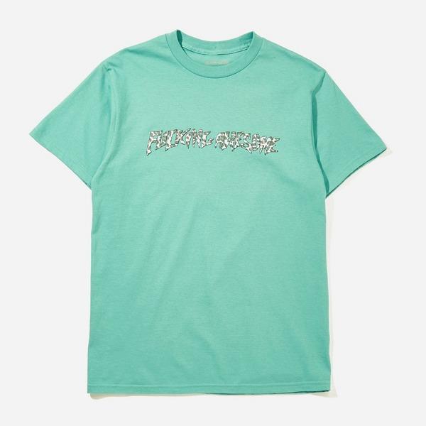 Fucking Awesome Cheetah Stamp T-Shirt