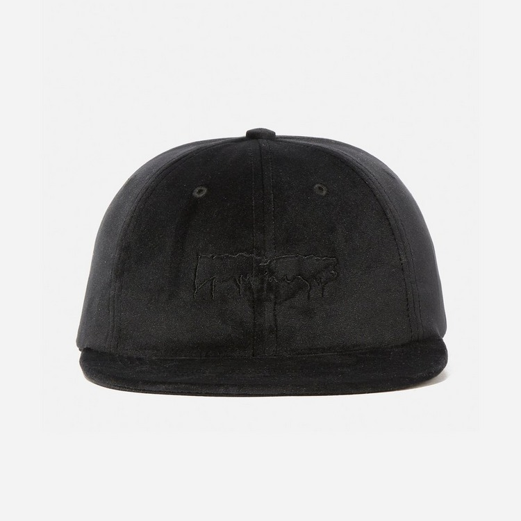 Fucking Awesome Unstructured Velvet Stamp Cap