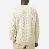 Norse Projects Arild Rope Cable Knitted Sweatshirt