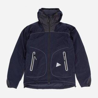 and wander Weave Windy Hooded Jacket