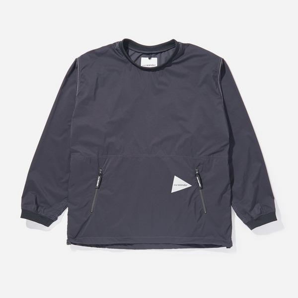 and wander Pertex Wind Long Sleeved T-Shirt