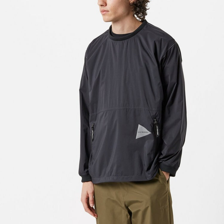 and wander Pertex Wind Long Sleeved T-Shirt