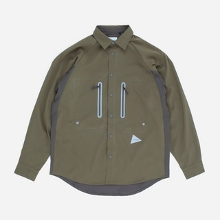 and wander Tech Long Sleeved Shirt