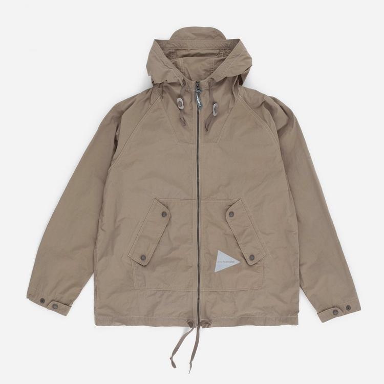 and wander Nylon Taffeta Hooded Jacket