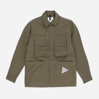 and wander Nylon Taffeta Overshirt Jacket