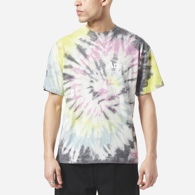 Aries Temple Tie Dye T-Shirt
