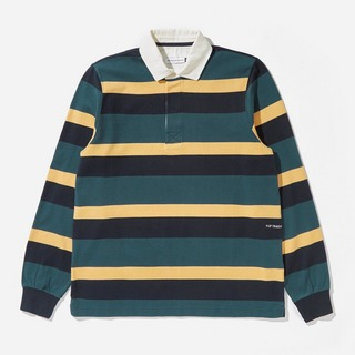 Pop Trading Company Striped Rugby Polo