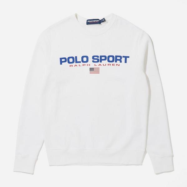 Polo Ralph Lauren Sport Logo Crew Sweatshirt