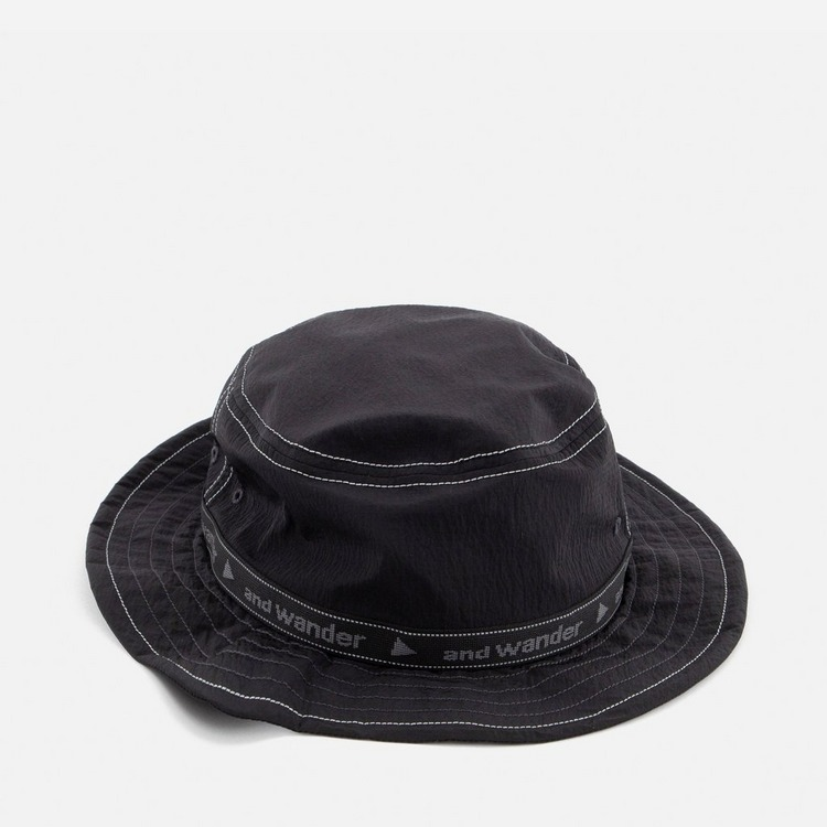 and wander Ripstop Jacquard Tape Hat