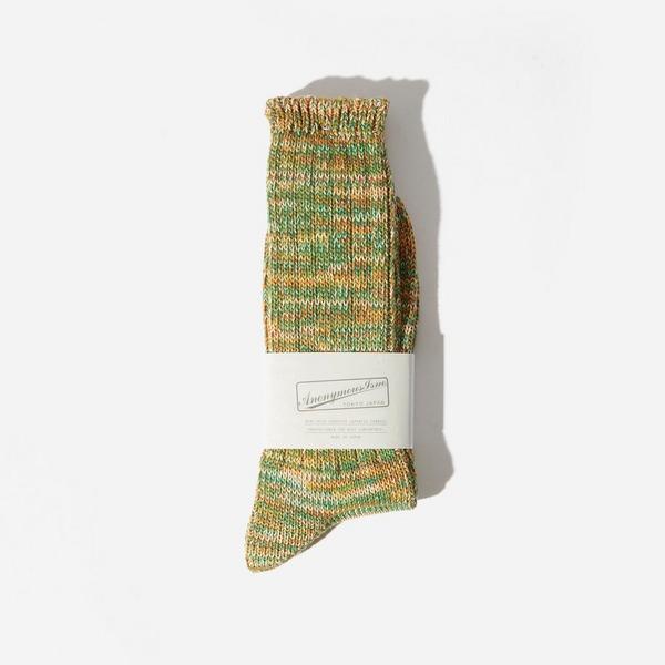Anonymous Ism 5 Colour Crew Mix Socks