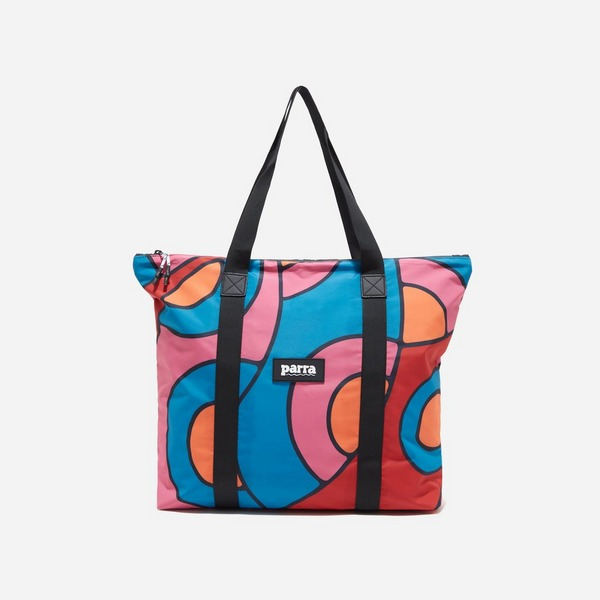 by Parra Serpent Pattern Tote Bag