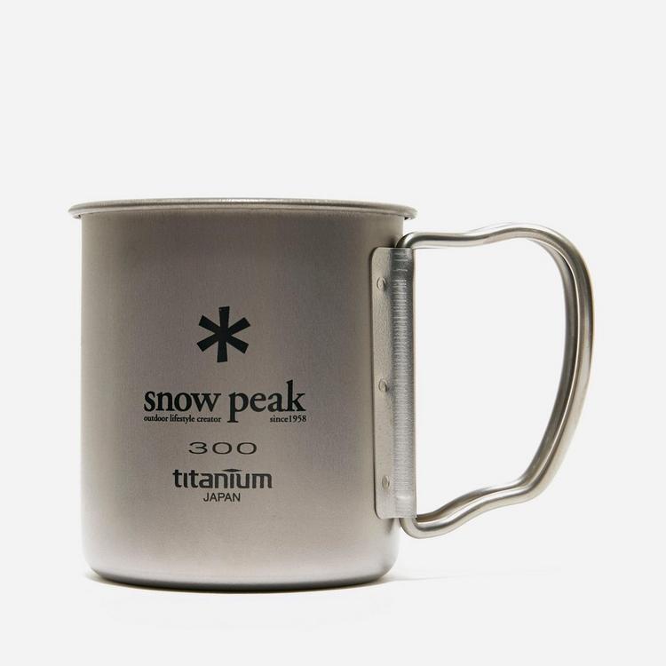 Snow Peak Titanium Single Wall Mug 300ml