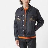 Evisu Patch Denim Jacket
