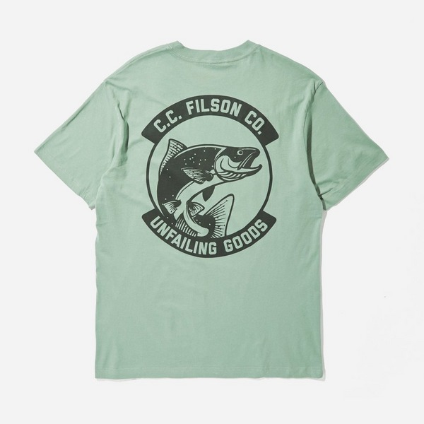 Filson Ranger Fish Graphic T-Shirt