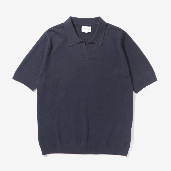 Norse Projects Leif Cotton Linen Polo