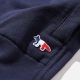 Maison Kitsune Fox Patch Pants