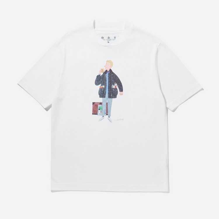 Barbour Mr Slowboy Artist T-Shirt
