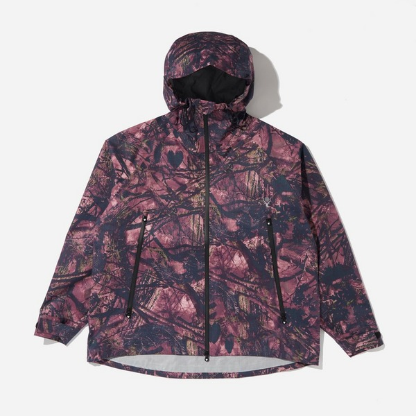 South2 West8 Weather Effect Camo Jacket