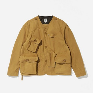 South2 West8 Paraffin Coated Oxford Tenkara Jacket
