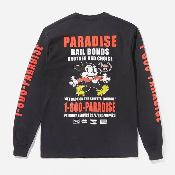 PARADIS3 NYC Bail Bonds Long Sleeved T-Shirt