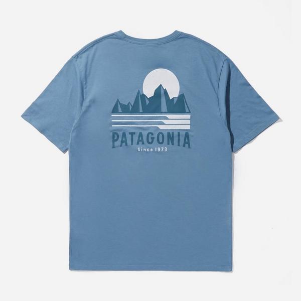 blue-patagonia-tube-view-organic-t-shirt