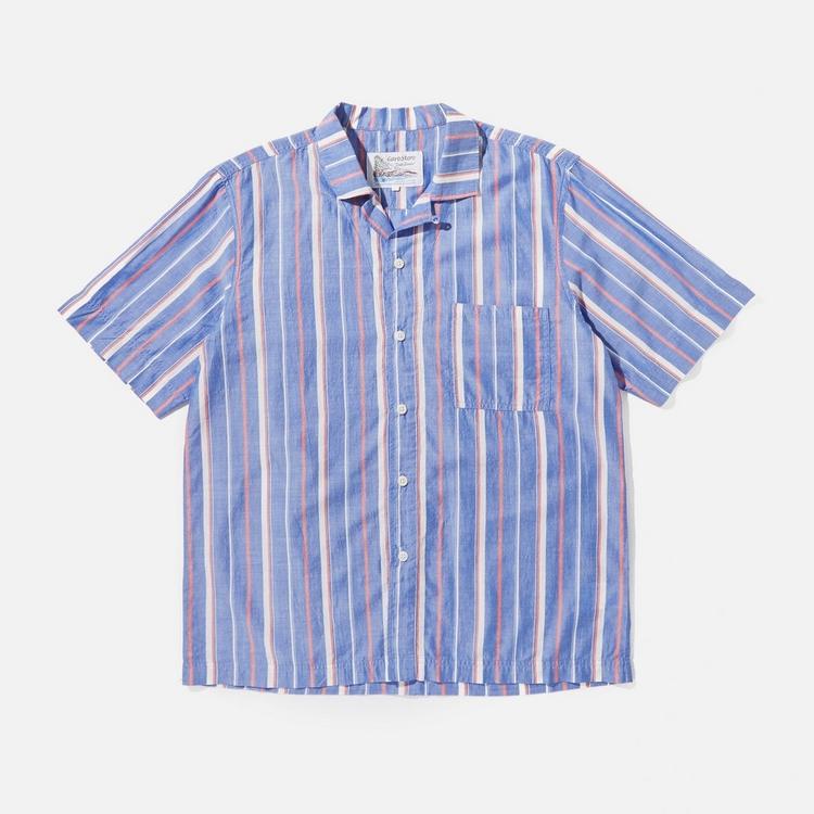 Garbstore Striped Camp Shirt