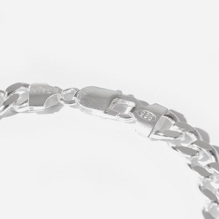 Hatton Labs Silver Cuban Bracelet