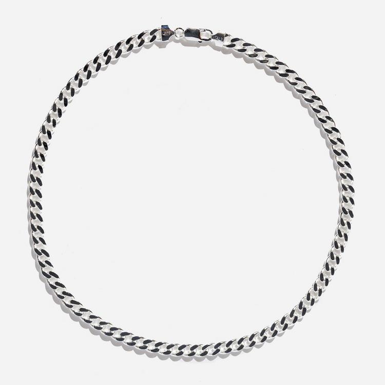 Hatton Labs Silver Cuban Chain