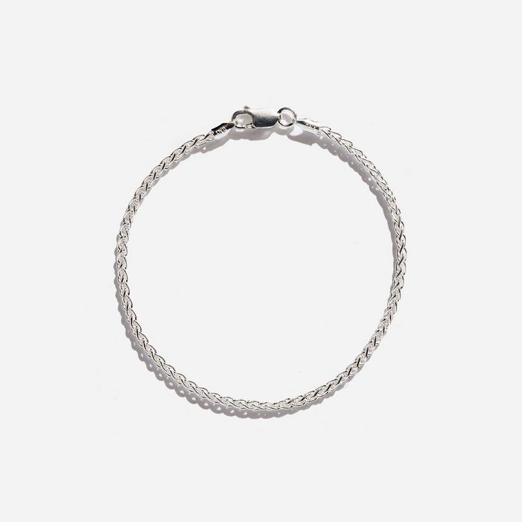 Hatton Labs Silver Rope Bracelet