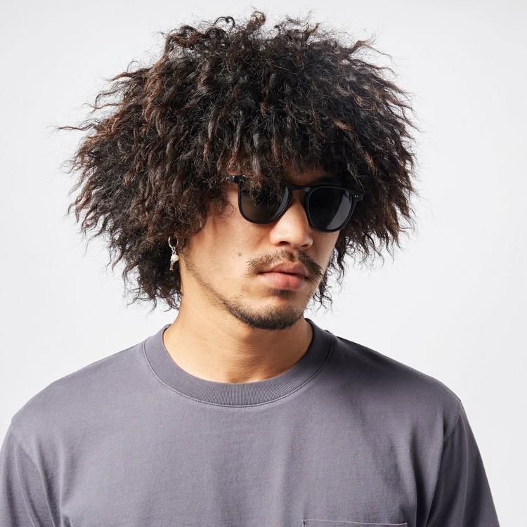 Garrett Leight Brooks 47 Square Frame Acetate Sunglasses